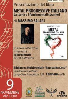 Locandina presentazione libro Eleonora Salari